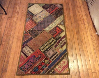 Patchwork wall hanging 2.04x4.08