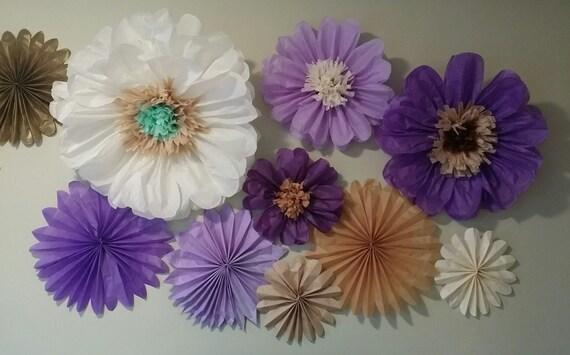 Jumbo FLOWERS/Tissue paper pom pom flowers by ...