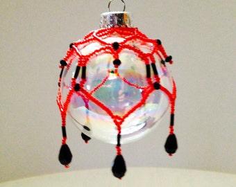 Beaded Ornament #004