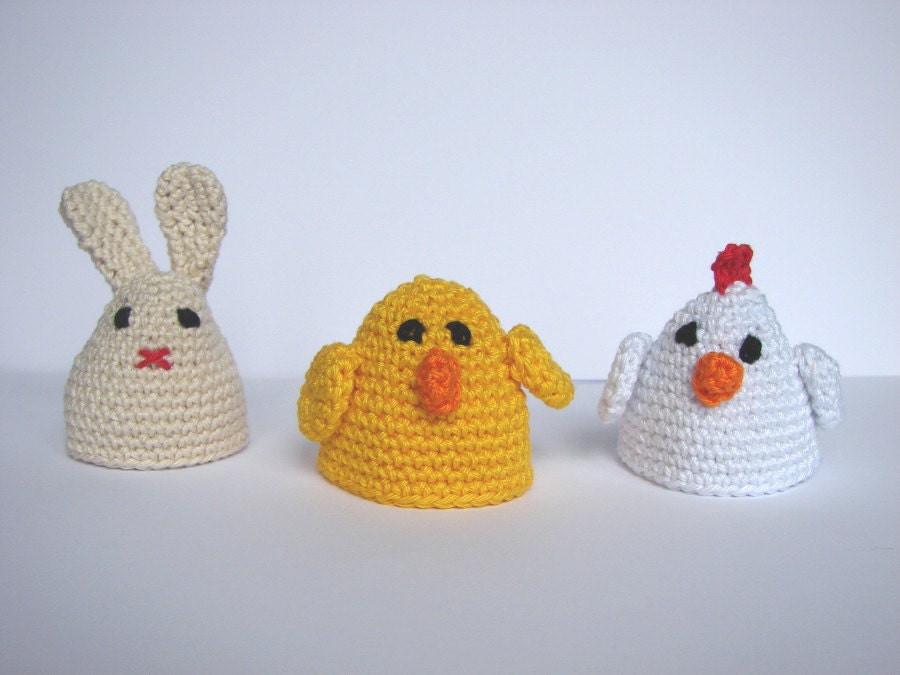 Amigurumi Egg Cozy : Egg cozy crochet pattern tutorial amigurumi animal