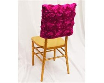 Rosette Chair Back Covers