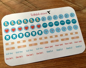 H036 - Doctors Appointment Stickers | Perfect for Your Erin Condren Life Planner