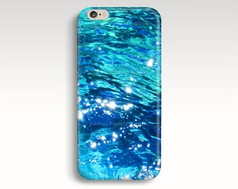 Blue iPhone s6 Case, iPhone 6 Case, Ocean Water iPhone 5C Case, iPhone 5s Case, iPhone 5 Case, iPhone 4s iPhone 6 Plus Case Christmas Gift