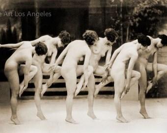 Albert Arthur Allen Photo, Female Figures, Group Choreography