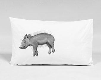 Silence Of The Ham Pillowcase