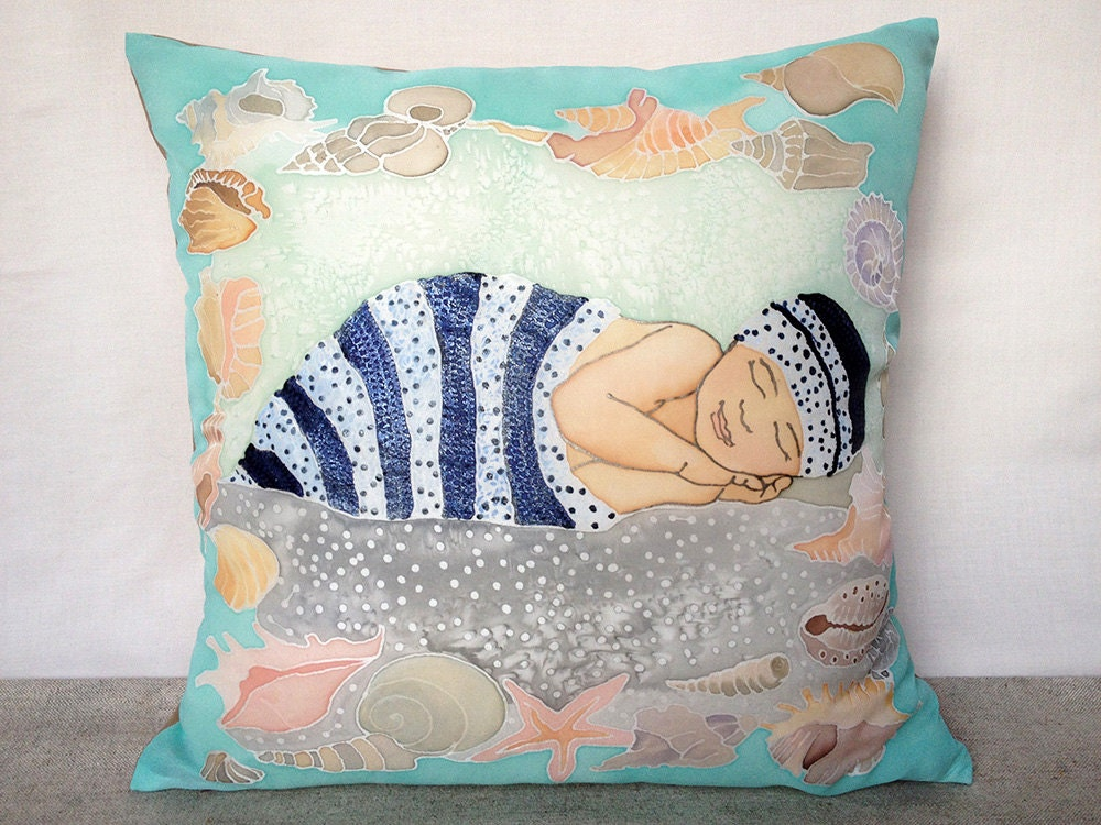 Baby pillow cover Baby boy pillow cover Throw pillow cover