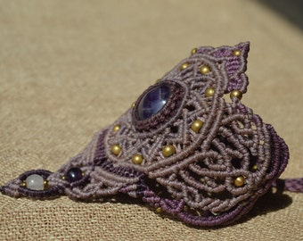 Amethyst Crown...Bracelet made by Indulekha Dasi...OM