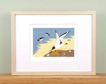 Oystercatchers Giclée Print - Limited Edition