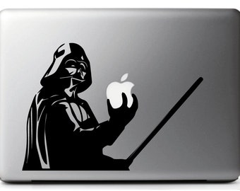 STICKERS for Mac DARTH VADER Star Wars - Macbook Pro Air 11, 13, 15, 17'' stickers macbook pro,  star wars macbook decal, star wars addicted