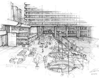 Barbican, London - Limited edition archival print