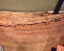 Spalted ambrosia maple burl mantel shelf 2