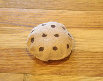 Felt Chocolate Chip Cookie