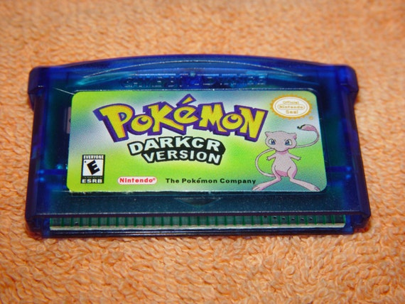 Pokemon Dark Cry Gba Pokemon Dark Cry Fan Made