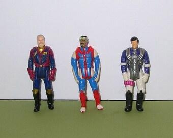Vintage lot of 3 MASK figures