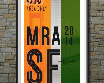SF Muni Poster: Marina