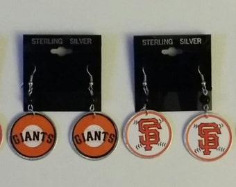 San Francisco Giants earrings 2for14.99
