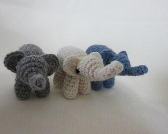 Any 3 Elephant Amigurumis