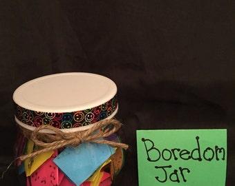Boredom Jar Kit