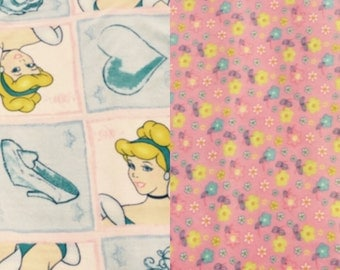 Fleece Cinderella Blanket(K102)