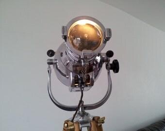 Vintage Theatre stage Light. Strand Patt. Floor Lamp.loft lamp