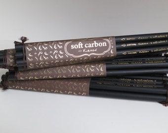 Charcoal pencils (6 pencils)