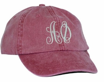 Alpha Phi Monogrammed Greek Hat