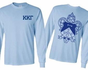 Kappa Kappa Gamma World Famous Crest Long Sleeve T-Shirt