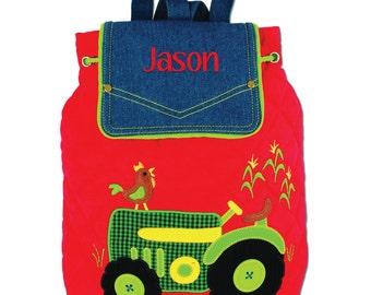 Personalised Nursery Backpack - Tractor