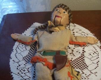 Daniel Boone Marionette