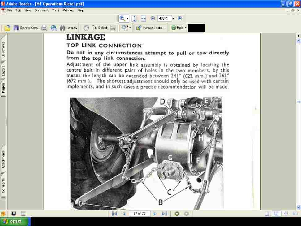 Massey Ferguson Mf 35 Tractor Parts Manual 340 Pgs By Tractorfix