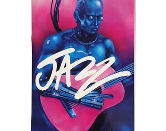 JAZZ - Limited Edition Zine + Vinyl Sticker