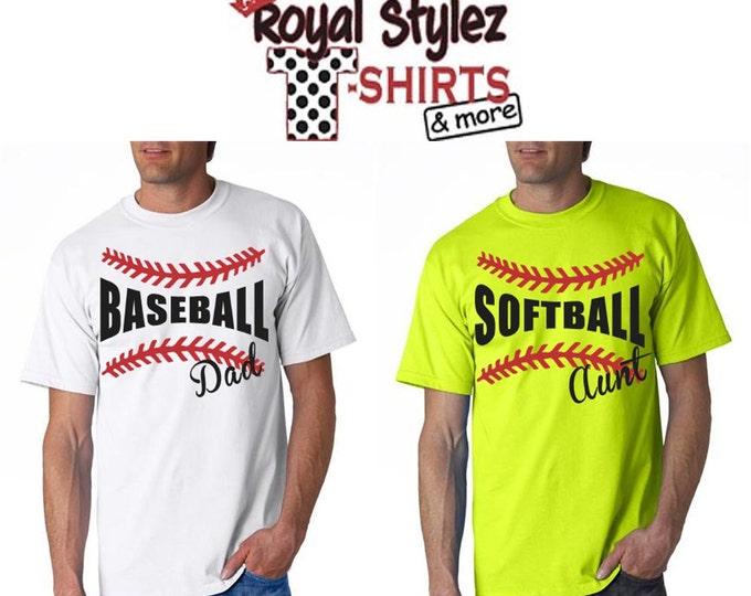 Custom Baseball/Softball Fan Shirt