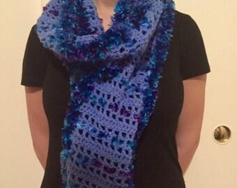 HANDMADE MIX EYELASH scarf