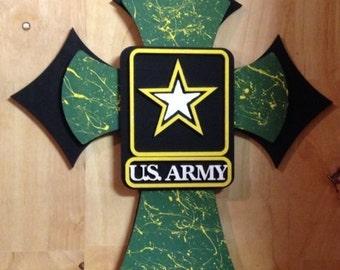 U. S. Army wall Cross