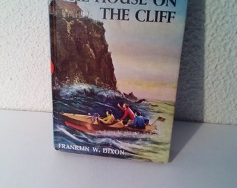 Hardy Boys The House on the Cliff, Hardy Boys Mystery, Hardy boys books, Hardy boys mysteries, books, vintage books, books for boys, gifts
