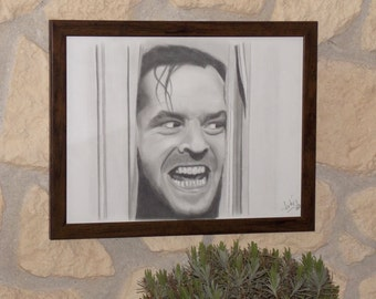 The Shining portrait