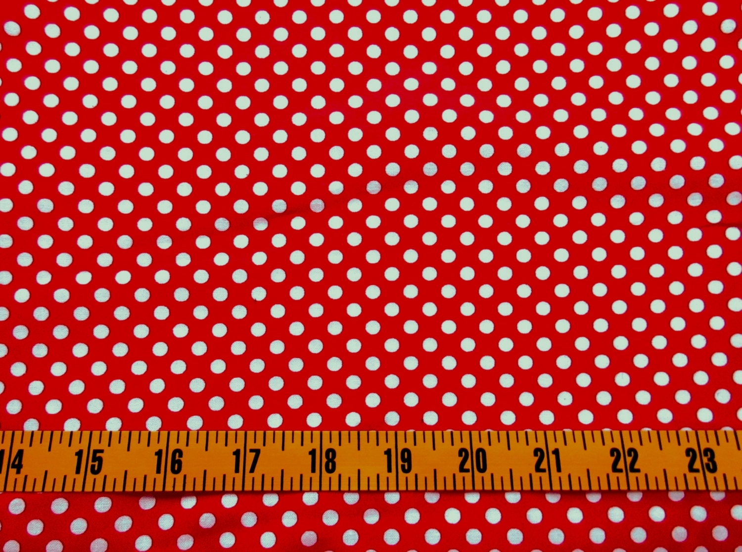 red polka dots cotton fabric by the yard red dots quilting. Black Bedroom Furniture Sets. Home Design Ideas