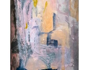 L for Love Series #5.  Giclee Fine Art Print, Abstract Art, Wall Art, Home Office Decor