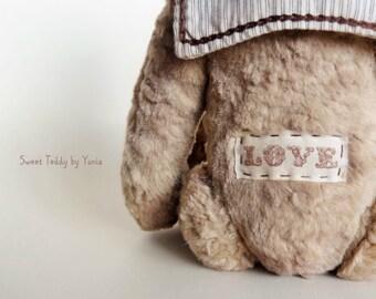 Collectible Teddy Bear Mocha