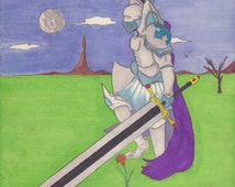 Paladin lost and alone