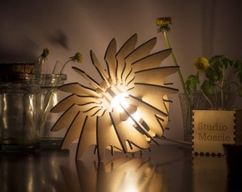 Table Lamp Flower Lamp Mood Lamp Lasercut Lamp Ambient light