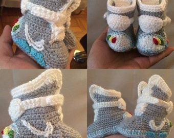 Nike air mag back to the future baby crochet