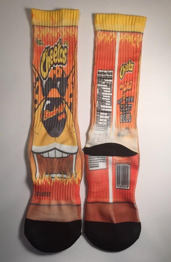 Nike socks hot cheetos