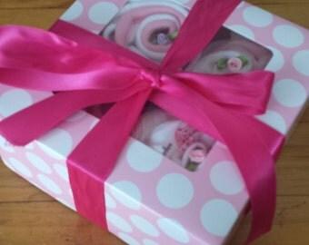 Baby Cupcake Clothes Gift Box