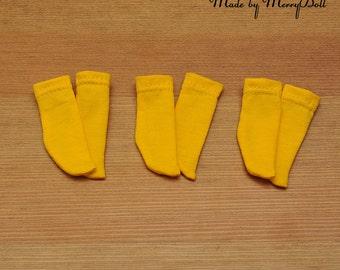 BJD Yo-sd yellow socks for Iplehouse BID, KID\Fairyland LittleFee