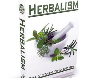 Herbalism Books 77 Vintage Books on DVD Herbal Medicines Botany Homoeopathy Herb