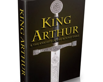 King Arthur & Knights of the Round Table - 68 Old Books on DVD - Merlin Sir Lancelot Arthurian Romance Excalibur