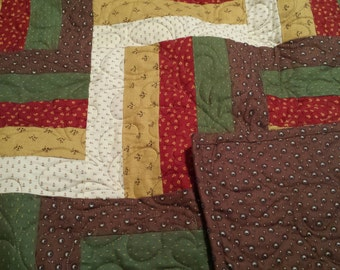 Brand New Log Cabin Quilt