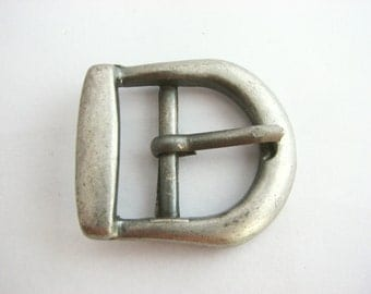 Small Metal Buckle, Western style belt buckle in gunmetal tone, Never used!!