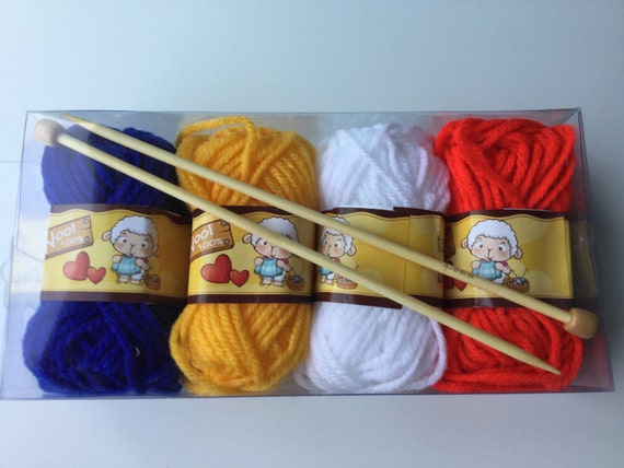 Knitting Gifts For Adults : Knitting starter kit for children and adults wool set